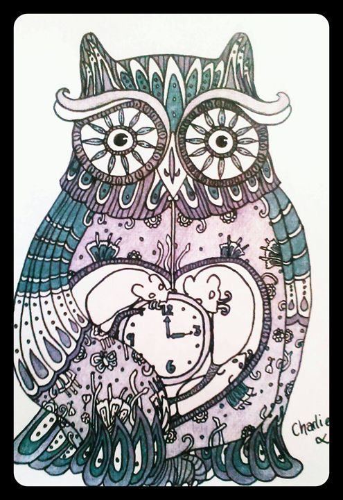 Mr. Owl - art pieces