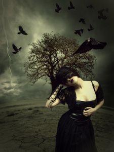 Raven maiden - Skitime123