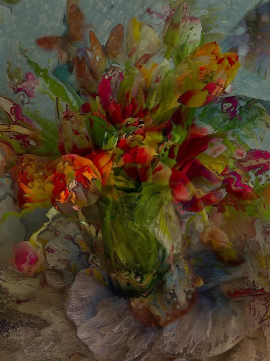 Tulip love - Secret garden