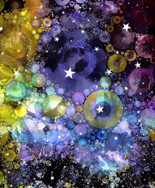 Galaxy - Secret garden