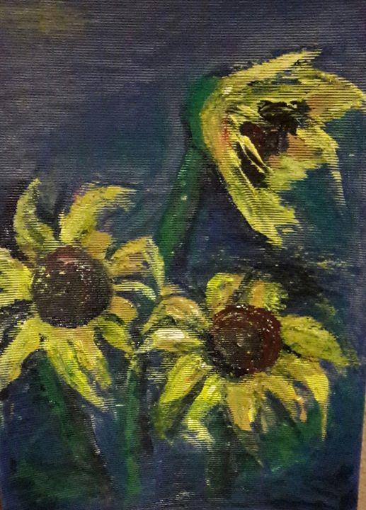 Sunflowers - Hibiscus