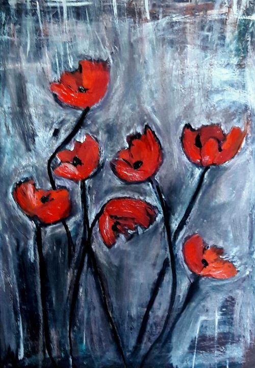 Poppies of love - Hibiscus