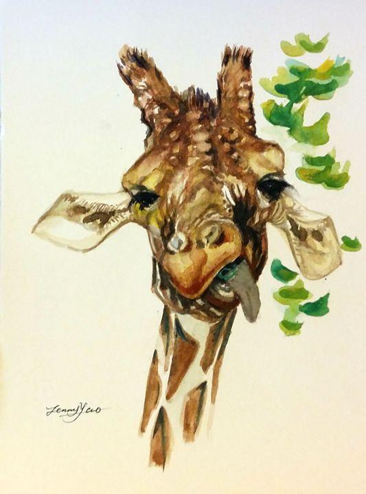 Giraffe - ArtbyJennyYao