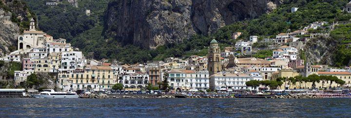 Amalfi Panorama - Pluffys portfolio