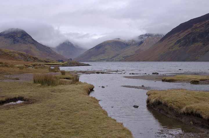 Wastwater and mountains. - Pluffys portfolio