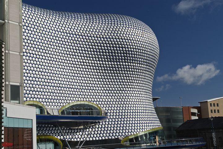Birmingham skyline - Pluffys portfolio
