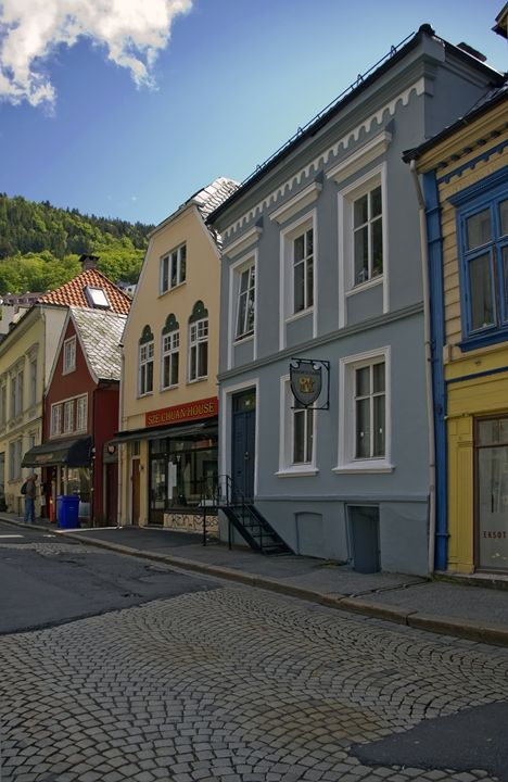 Cobbled streets of Bergen - Pluffys portfolio