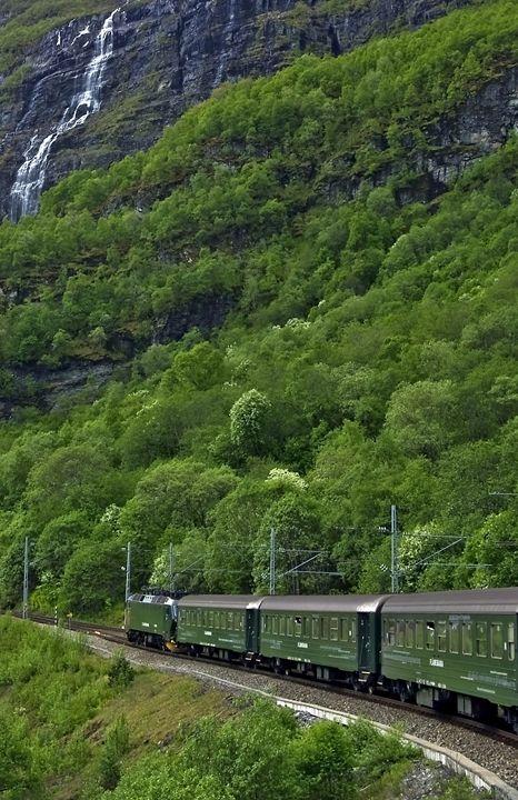 The Flam railway - Pluffys portfolio