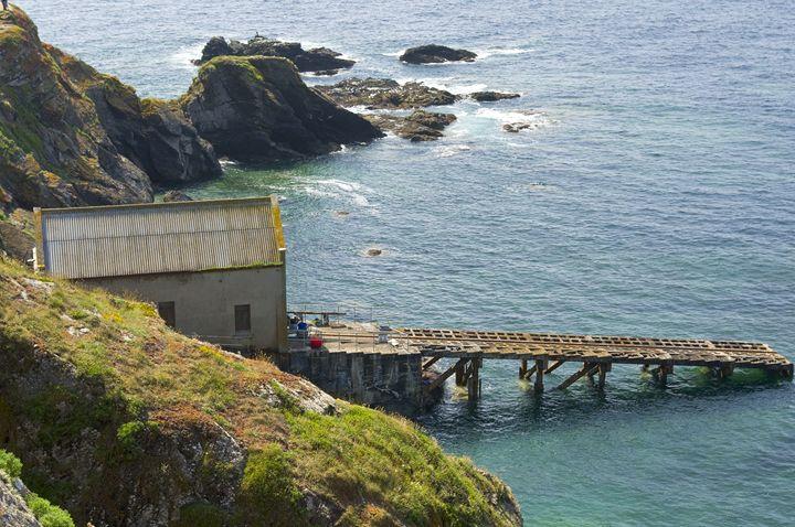 The boathouse and slipway - Pluffys portfolio