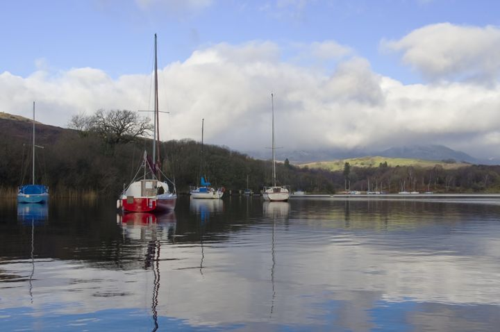 Yachts on a mill pond - Pluffys portfolio