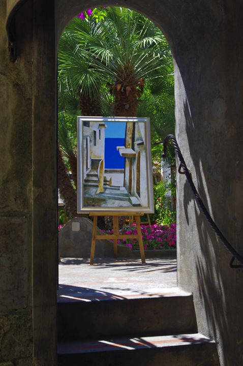 Art mimicking art - Pluffys portfolio