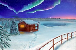 Winter Landscape - Yesenia Visual Artist
