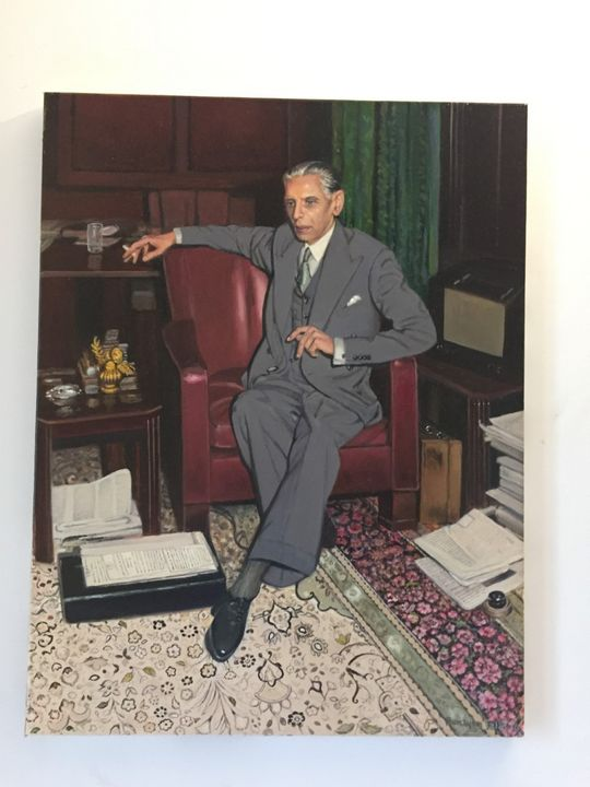 Quaid e Azam Muhammad Ali Jinnah - OilOnCanvas