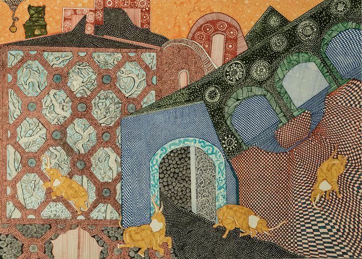 Elephants - Anna Deligianni