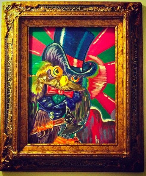 Graffiti Wise Owl - Fakulty