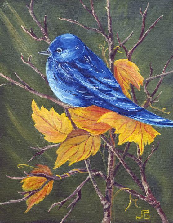 Blue Bird - Yucca Creek Studios