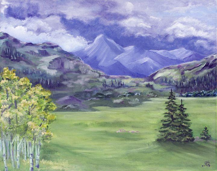 Stormy Poncha Pass - Yucca Creek Studios
