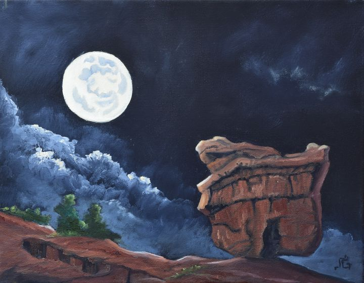Balanced Rock - Yucca Creek Studios