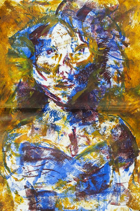 colorful girl - alyssa brown