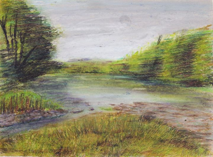 creek in fall 1 - alyssa brown