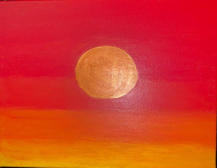 Fierce Sunset - Skye's Artistry
