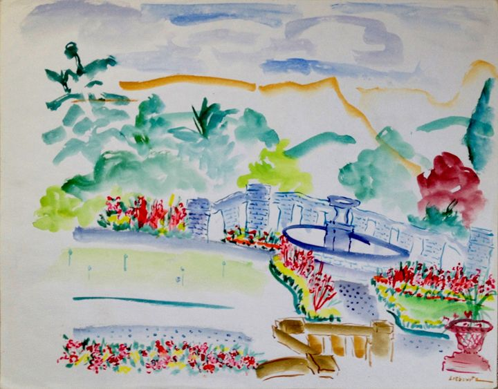 "Terrace ~ Scotland Glen Eagles - Joan Liebowitz ~ ""Artist To The Stars"""