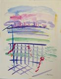 Dawn of Hope Watercolor