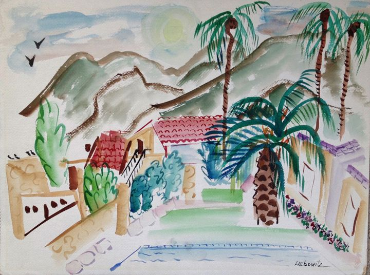 "Casitas ~ Palm Springs - Joan Liebowitz ~ ""Artist To The Stars"""