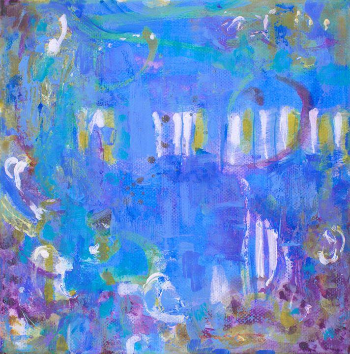 BLUE BLUES II - Marilion Fine Art