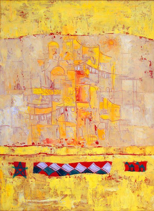 DREAMING OF MOROCCO - Marilion Fine Art