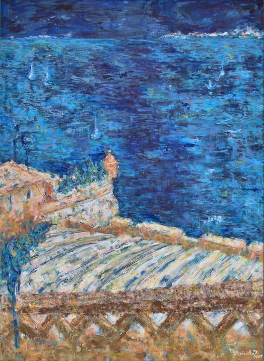 ABOVE THE SEA LEVEL - Marilion Fine Art