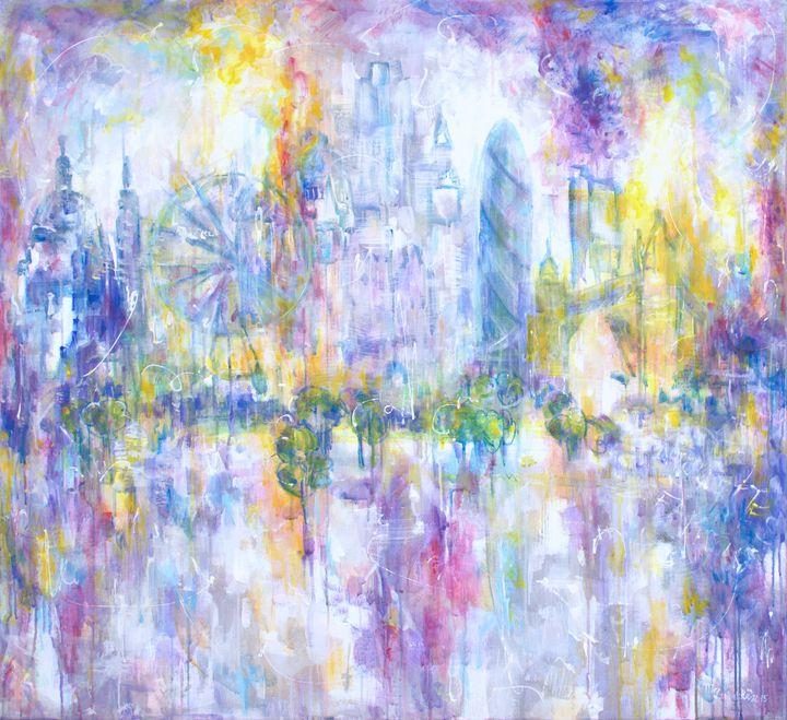 LONDON SILHOUETTES - Marilion Fine Art