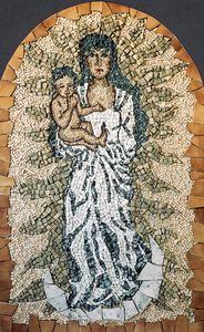 Mosaic MADONA ASSUMPTA