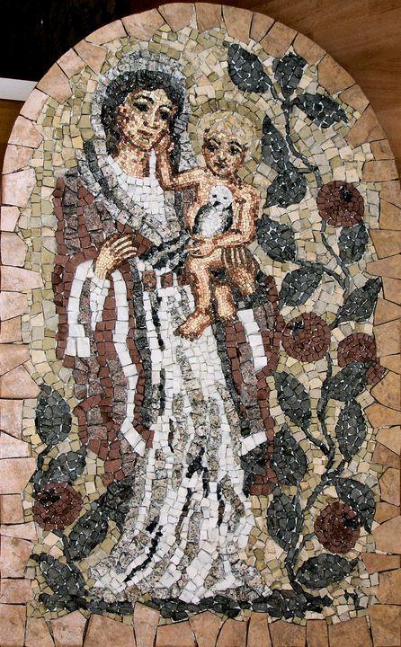 MADONNA WITH POMEGRANATE - Marilion Fine Art