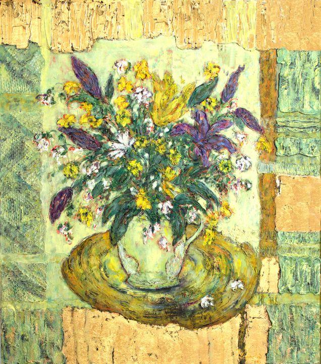 VIOLET HIBISCUS - Marilion Fine Art