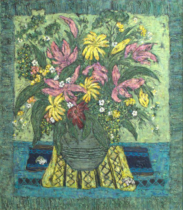 YELLOW GERBERAS - Marilion Fine Art