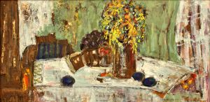STILL LIFE WITH PLUMS