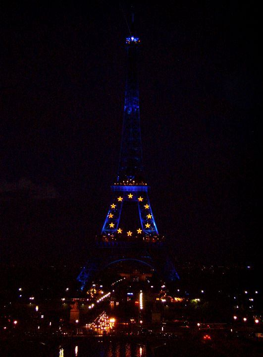 Eiffel At Night - Markell Smith Gallery