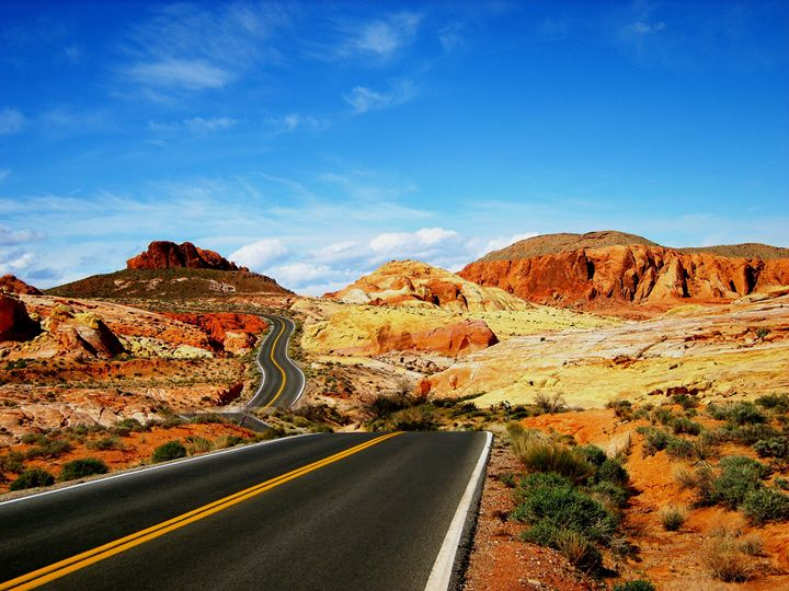 The Valley of Fire - Markell Smith Gallery