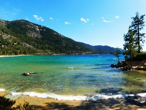 Sand Harbor Beach