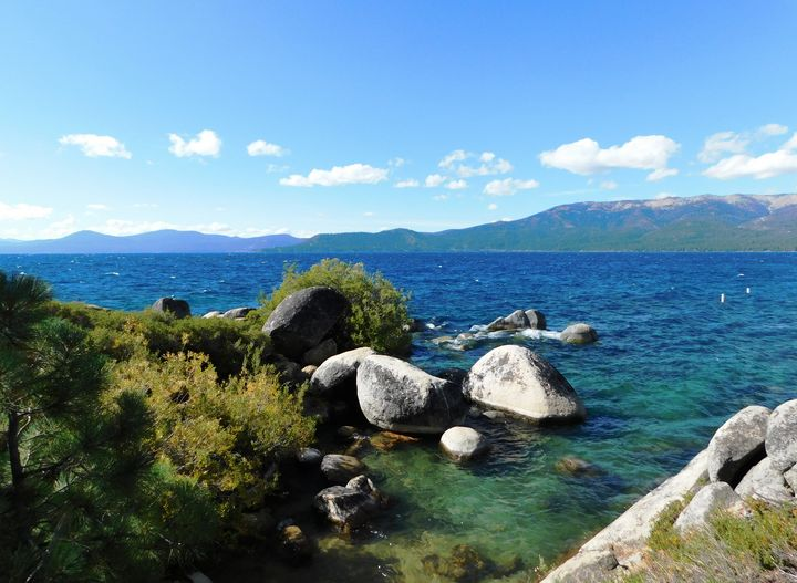 Sand Harbor Inlet - Markell Smith Gallery