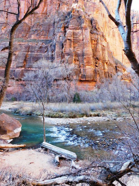 Desert River - Markell Smith Gallery