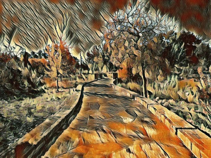 Falls Pathway - Markell Smith Gallery