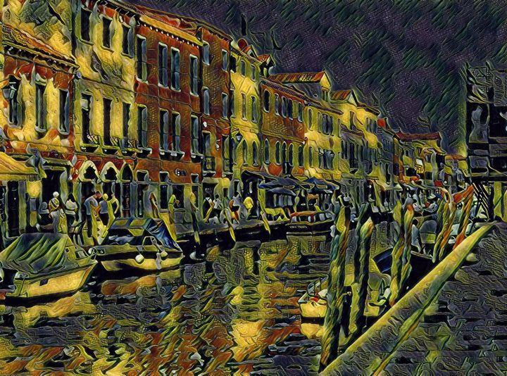 Murano Pathway - Markell Smith Gallery