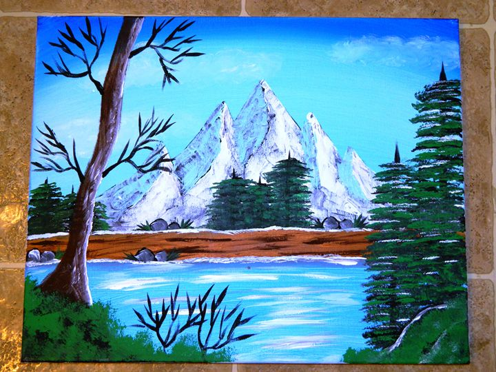 The River Mountain - Markell Smith Gallery