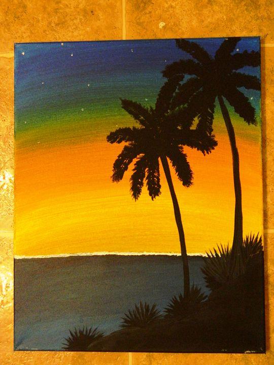 Island Sunset - Markell Smith Gallery