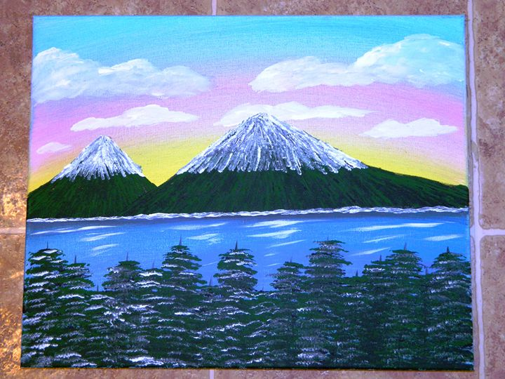 Snow Capped Mountain - Markell Smith Gallery