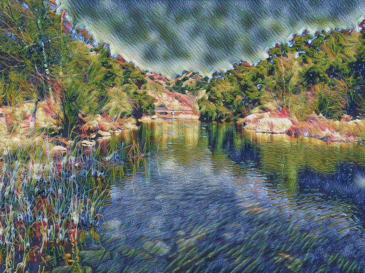 The Malibu Creek - Markell Smith Gallery