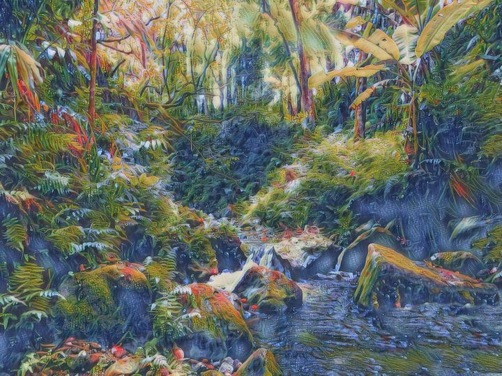 The Tropical Pond - Markell Smith Gallery