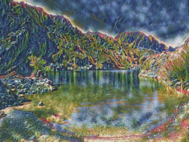 The Colorado River - Markell Smith Gallery